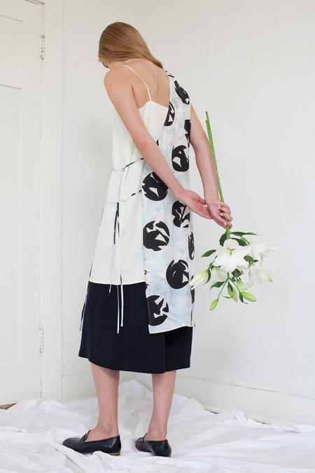 Silvae Arias Dress - graphic lily print
