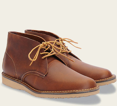 Red Wing Shoes Heritage Weekender Chukka #3322 // Copper Rough & Tough Leather