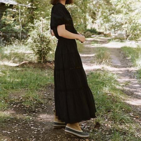 The Great. The Prairie Bird Dress - Black