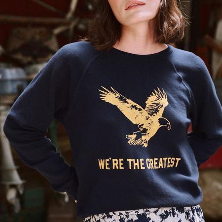 The Great. The Shrunken Sweatshirt - TRUE NAVY