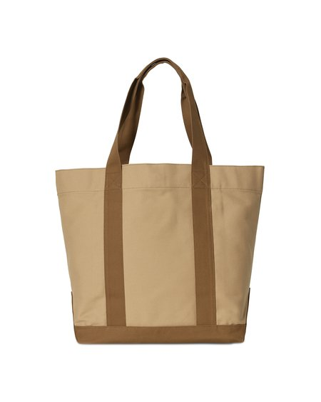 Unisex CARHARTT WIP Bolsa Tote Bag Work Tote - Hamilton Brown/Dusty H Brown