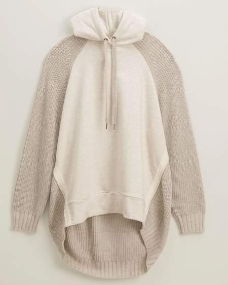 Splendid Shea Sweatshirt Hoodie - Heather Oatmeal