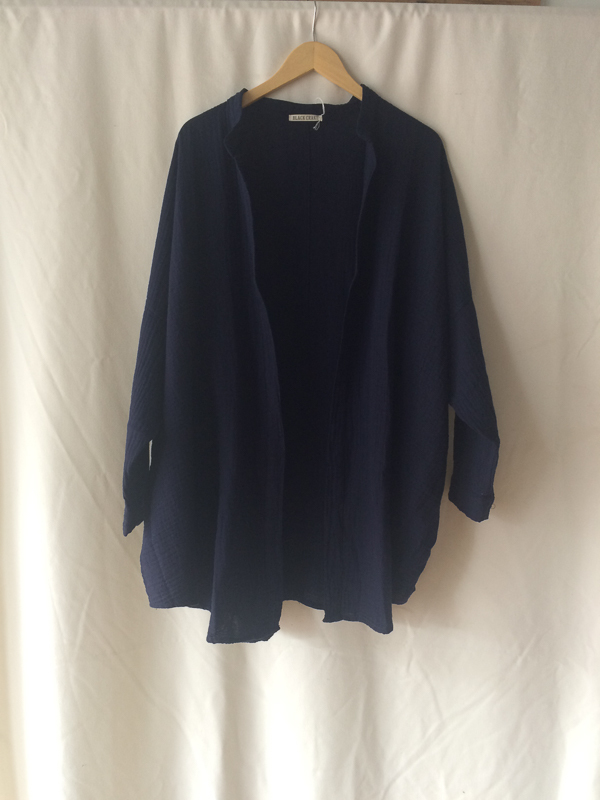 Black Crane Square Long Sleeve Shirt
