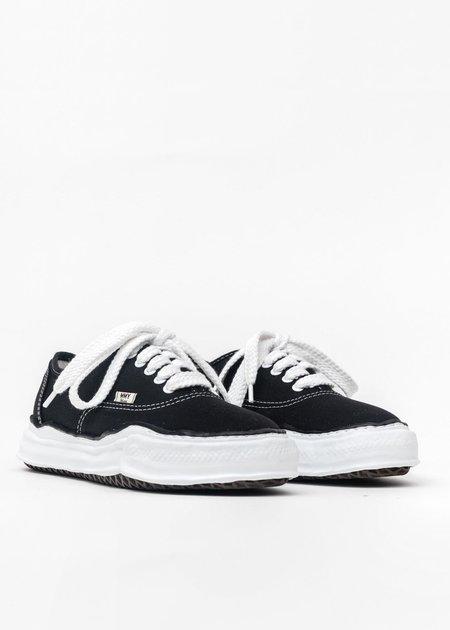 Mihara Yasuhiro Original Sole Lowcut Sneaker - Black