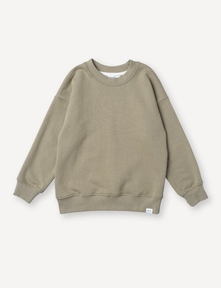Kids Petits Vilains Emil Cozy Sweatshirt - Dune