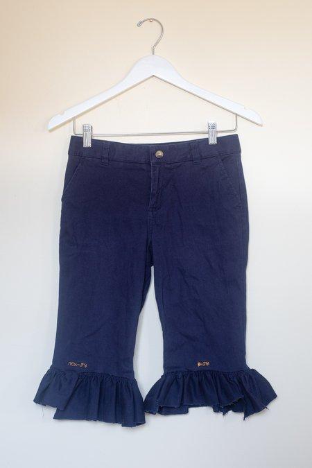ARIELLE Okoye Shorts - navy blue