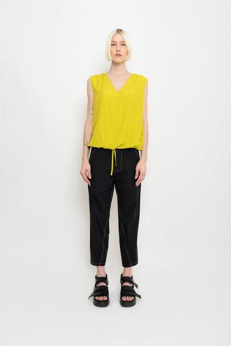 UMA Raquel Davidowicz Tailoring Style Nylon Pants With Spandex - Charro
