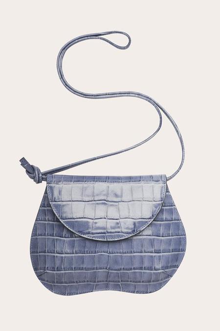 Little Liffner Pebble Mini Bag - Dove Blue