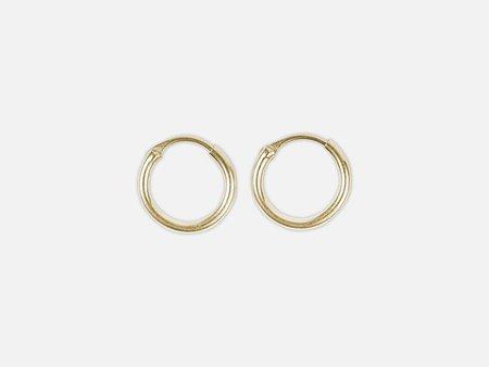 Folkdays x El Puente classic mini hoops - Gold