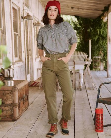 The Great The Carpenter Pant - Army
