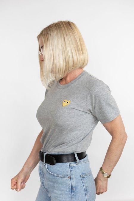Comme des Garçons Gold Heart Patch T-Shirt