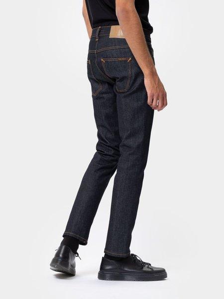 Nudie Jeans Grim Tim Dry denim - True Navy