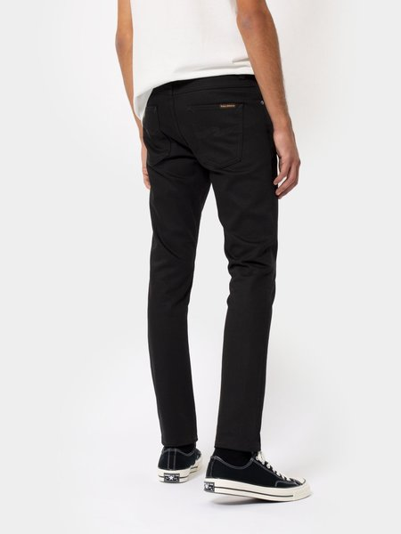 Nudie Jeans Lean Dean Dry denim - Cold Black