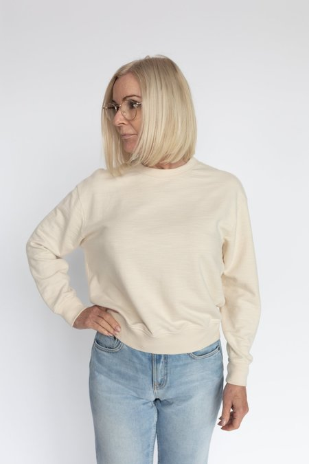 AG Jeans Nova Sweatshirt - White Cream