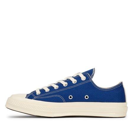 unisex Comme des Garçons Play Converse Chuck Low Sneakers - blue
