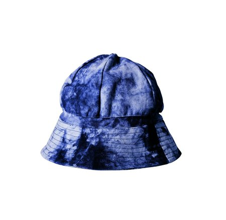 Post-Imperial Elegushi Hat - Indigo