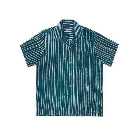 Post-Imperial Ijebu Shirt - Green/White