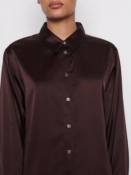 FRAME Denim The Standard Shirt - Mahogany