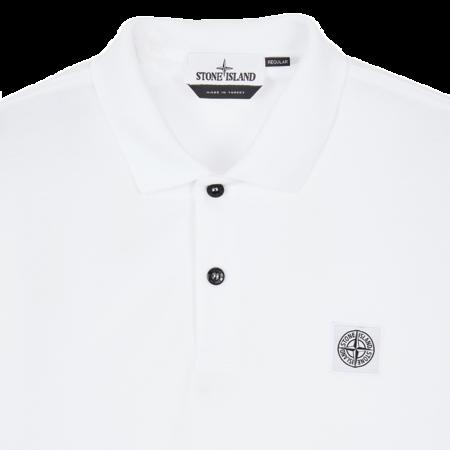 Stone Island Polo Men MO751522R39-V0001 Shirt - White