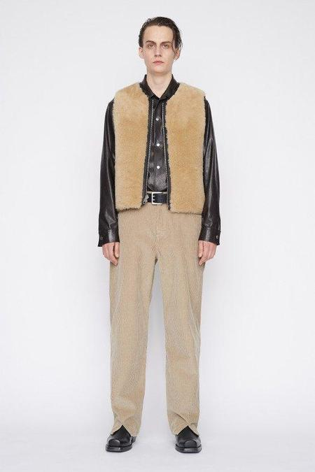 Our Legacy Sabot Cut Pants - Clay Grey Cord
