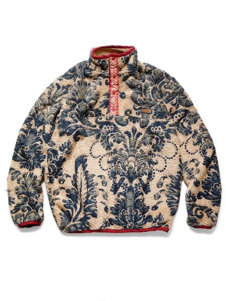 Kapital DAMASK Fleece Pullover - Beige