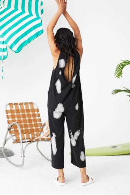Back Beat Co. Organic Cotton Everyday Jumpsuit - Cloud/Black