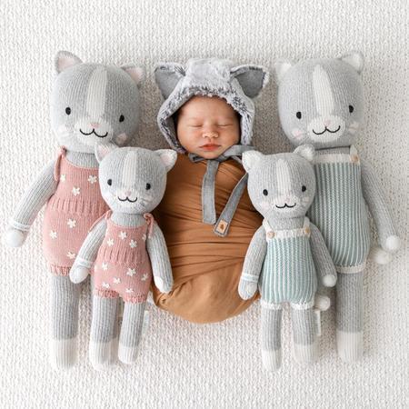 Kids cuddle + kind Daisy the Kitten Toy - Pink