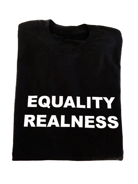 Beth Richards Equality Realness Tee - Black