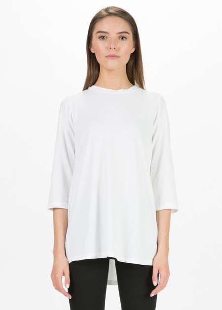Labo.Art Linda Back-Pleat Tee