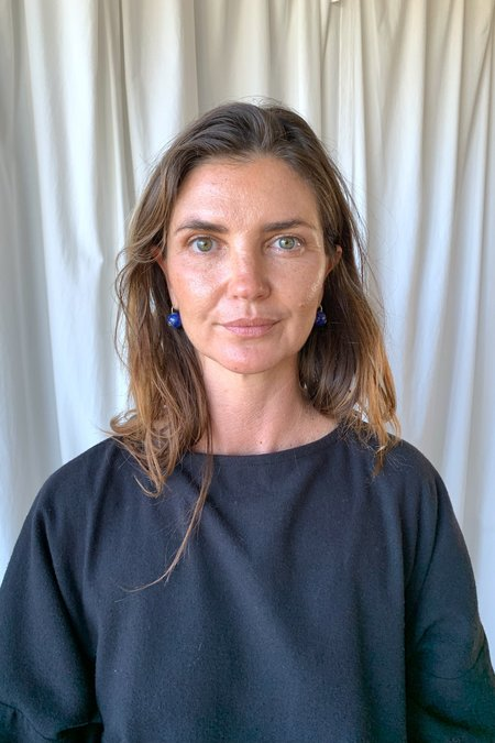 Lizzie Fortunato Comet Earrings - Lapis