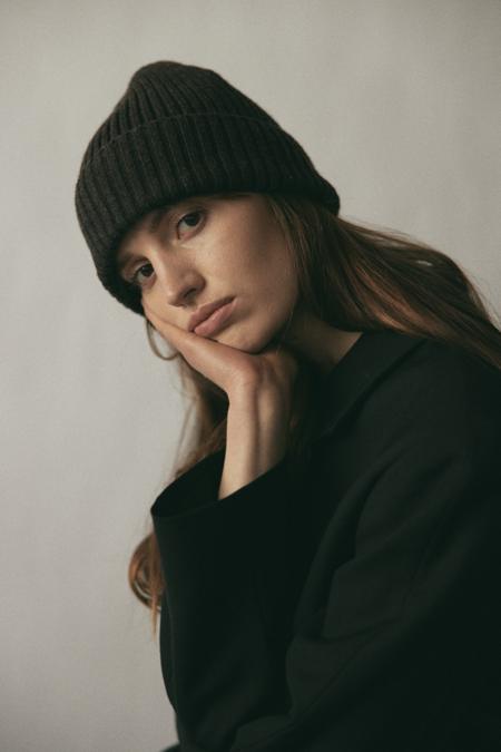 Janessa Leone Beau Beanie - Brown