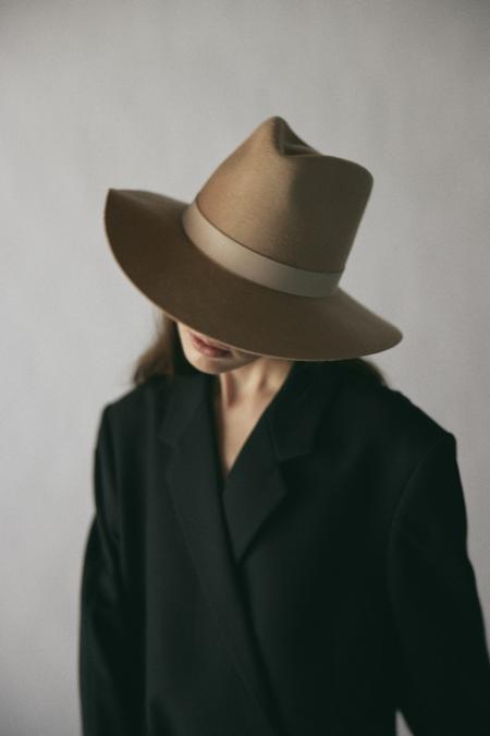 Janessa Leone Brynn Fedora - Honey