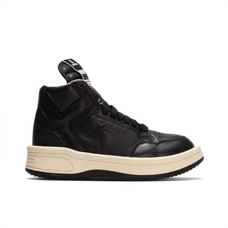 RICK OWENS DRKSHDW Turbowpn Hi Sneakers - Black
