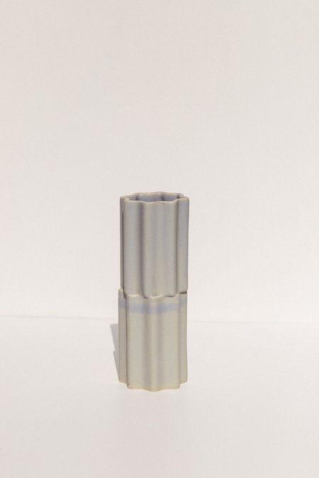 Ella Reweti Tilde Stacked Vase - Soft Blue