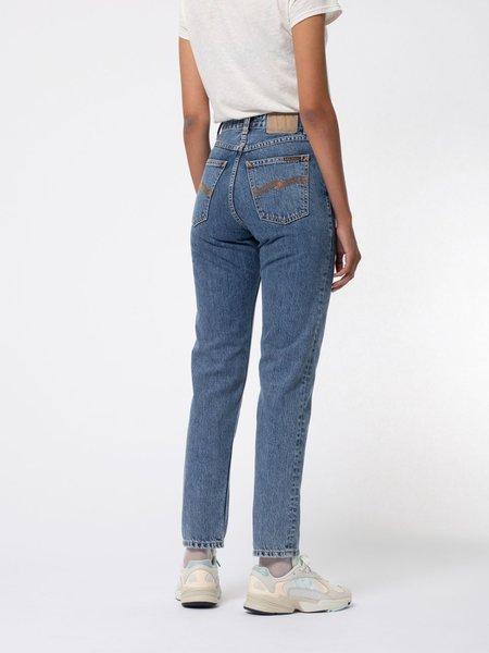 Nudie Jeans Breezy Britt Jeans - Friendly Blue