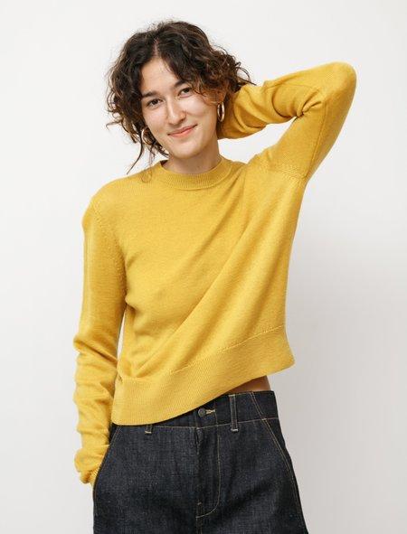 Studio Nicholson Orlandi Extra Fine Merino Yolk sweater - Yellow