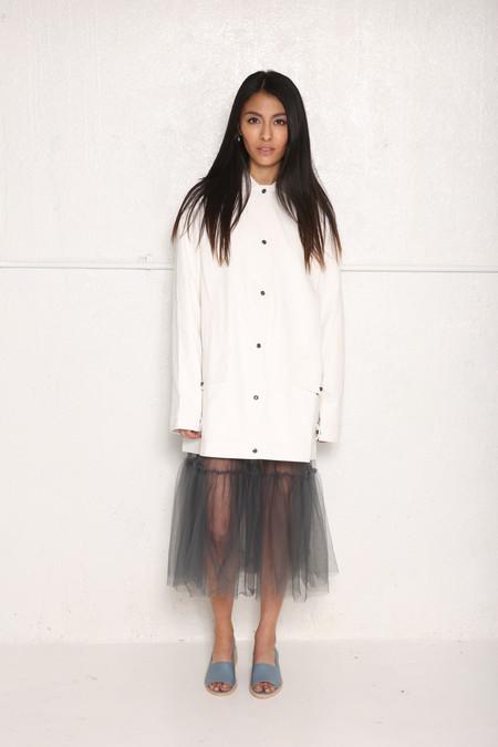 Unisex Intentionally Blank Manor Jacket White