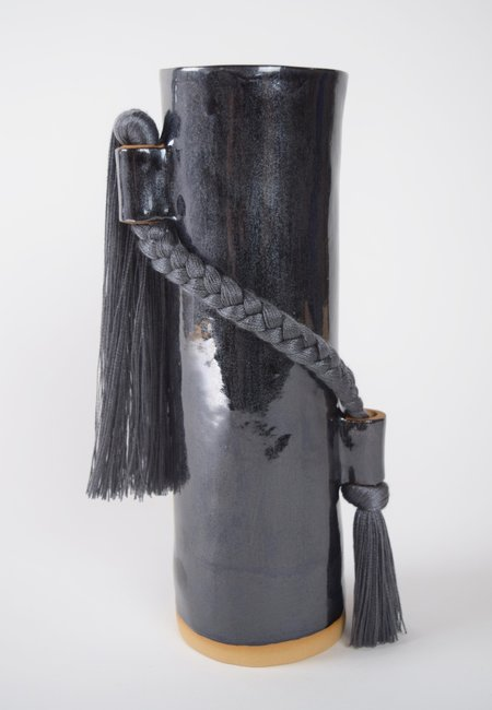 Karen Gayle Tinney #695 Vase - Black