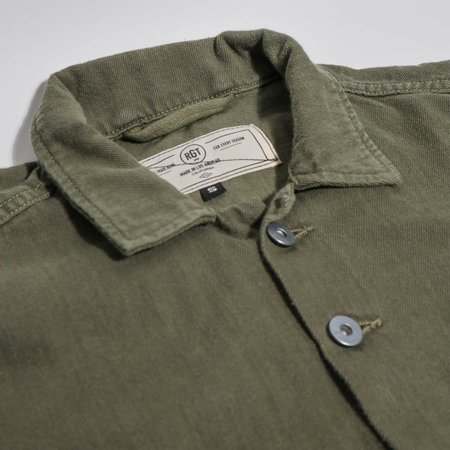 Rogue Territory Infantry Shirt - Olive Overdyed