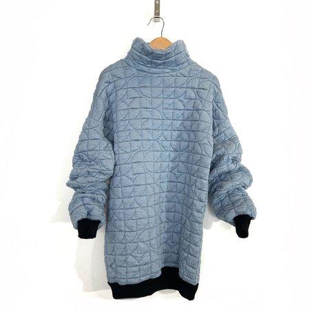 Melow DesignDerek Quilted Pullover - Sky Blue