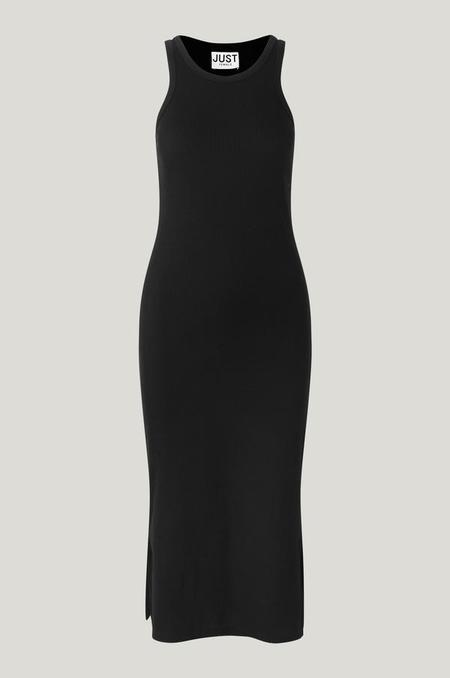 Just Female Rancho Tank Dress - Black
