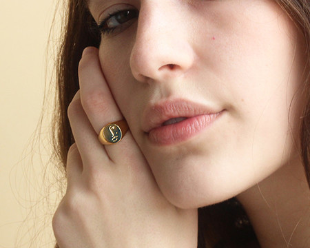 Wolf Circus Matisse Face Ring
