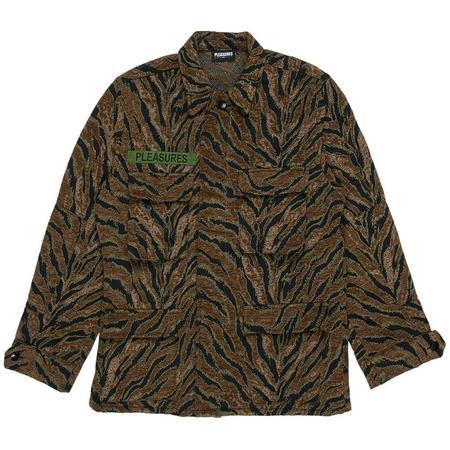 PLEASURES Jungle Jacket - Brown