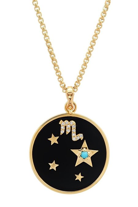 Helena Rose CAPRICON Zodiac Necklace - Onyx