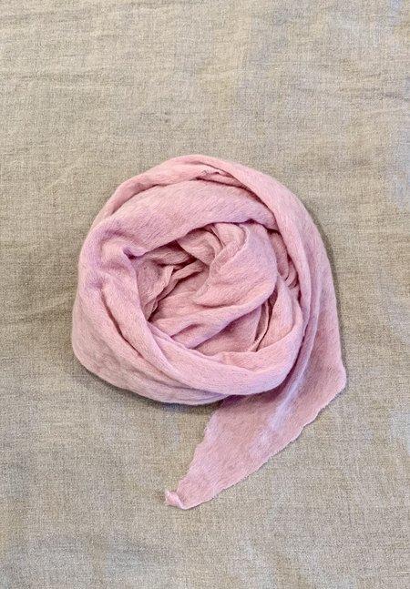 Cashmere Scarf 100% Italian Cashmere Jersey Scarf - Light Pink