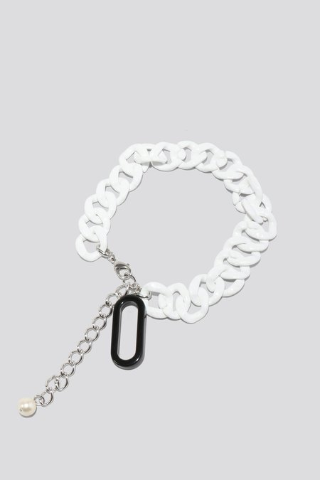 Rachel Comey Mini Pezzi Necklace - White