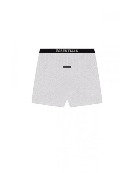 Fear of God Essentials logo elastic shorts - gray