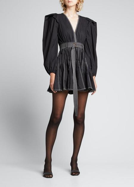 Ulla Johnson Corliss Mini Dress - Raven