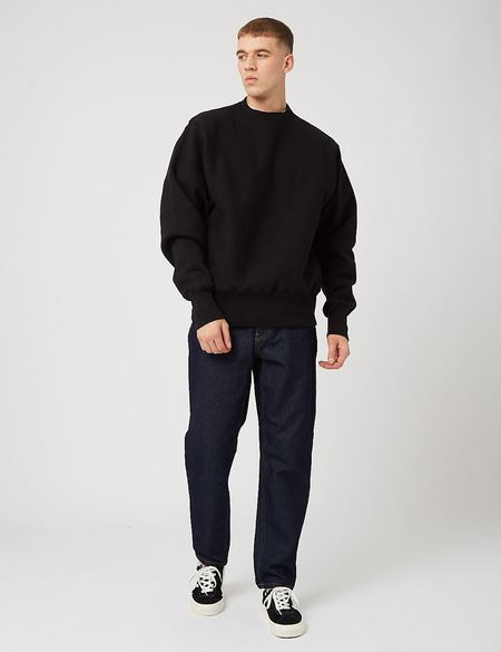 Camber 12oz Crew Neck Sweatshirt - Black
