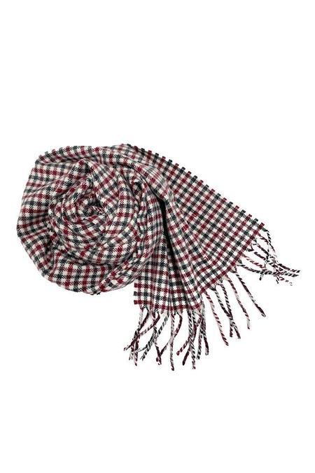 Destin Hedi Sciarpa Heritage scarf - Red Mix